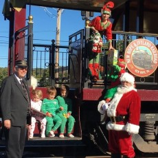 Things to do in Westfield-Clark, NJ for Kids: SANTA'S STEAM TRAIN RIDE, New Hope Railroad