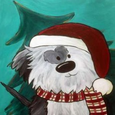 Things to do in Wesley Chapel-Lutz, FL: In-Studio Paint Class - Christmas Bandit