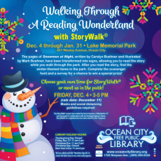 Things to do in Cape May County, NJ for Kids: Walking Through a Reading Wonderland, Ocean City Public Library