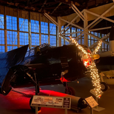 Things to do in Cape May County, NJ for Kids: Christmas at the Hanger, Naval Air Station Wildwood Aviation Museum