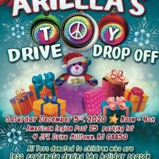 Ariella's Toy Drive Drop Off