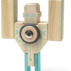 Tegu Magbot Magnetic Wooden Blocks