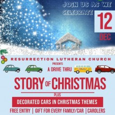 Our Christmas story drive through even