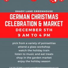 A German Christmas Celebration & Market