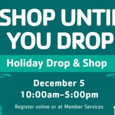 Holiday Drop & Shop