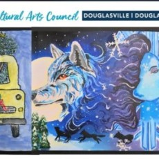 Things to do in West Cobb-East Paulding, GA for Kids: Winter Wonderland Exhibit, Art by DC Students, Cultural Arts Council Douglasville \/ Douglas County