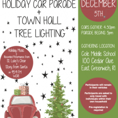 Things to do in Warwick, RI: Holiday Car Parade & Town Hall Tree Lighting