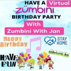 Virtual Zumbini Birthday Party