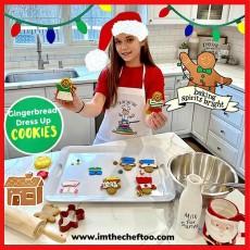 Gingerbread Dress-Up Holiday Kit