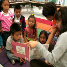 A love of reading for underserved children.
