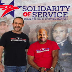 Service project & acts of gratitude for heros