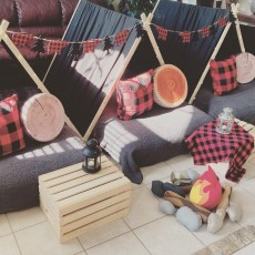 Lumberjack Sleepover Party