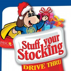 Things to do in Wesley Chapel-Lutz, FL for Kids: Stuff Your Stocking Drive Thru, Rotary Club of Wesley Chapel