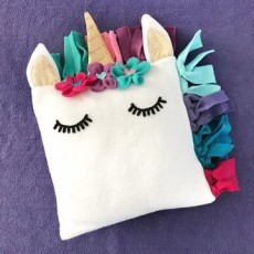 Unicorn Pillow Sewing Party