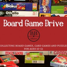Holiday Board Game Drive