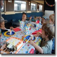 Train Birthday Parties