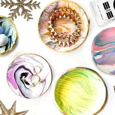 Things to do in Hulafrog at Home: DIY Marbled Bowl