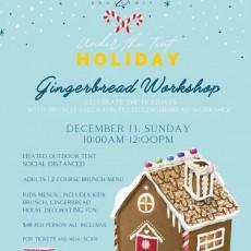 Holiday Gingerbread Workshop