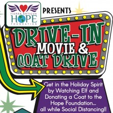 Drive in Movie & Coat Drive - Elf