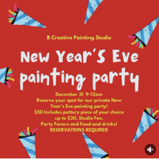 New Year's Eve Painting Party