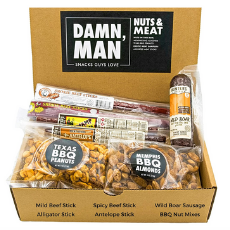 Exotic Jerky & Nuts Box