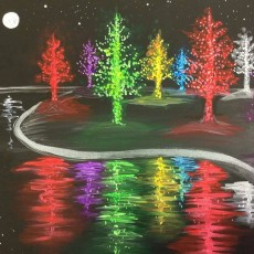 In-Studio Paint Class - Light Up the Park