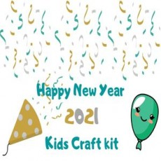 Curbside Pickup: New Year Kids Crafts