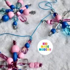 Things to do in Warwick, RI: [National] Kid Made Modern Beaded Snowflake Garland