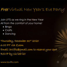 Virtual New Year's Party for Kids