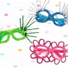 [National] New Year's Eve Party Glasses Craft