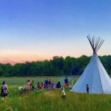 Things to do in Olathe, KS for Kids: Campfire Night | Music Circle {All Ages}, Blue River Forest Experience