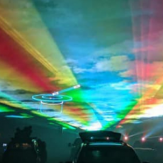 Wesley Chapel-Lutz, FL Events for Kids: Cabin Fever Drive-in Laser Show
