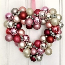 Valentine Ornament Wreath
