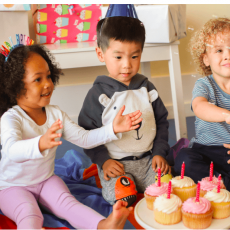 Host a playful bash at Gymboree Play & Music!