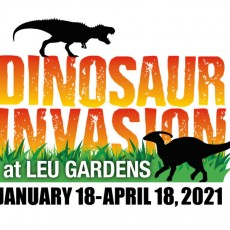 Things to do in Orlando, FL for Kids: Dinosaur Invasion at Leu Garden's, Harry P. Leu Gardens