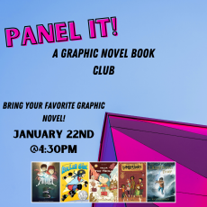 Panel It! A Graphic Novel Book Club