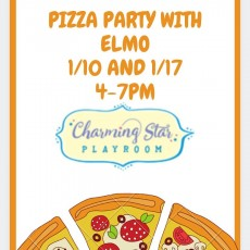 Pizza Party with Elmo