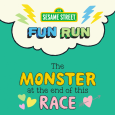 Things to do in Hulafrog at Home: Sesame Street Fun Run