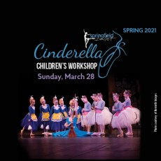 Things to do in Springfield, MO for Kids: Children's Workshop Series: Cinderella, Springfield Ballet