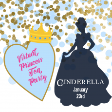 Things to do in Olathe, KS for Kids: Virtual Princess Tea Party {Ages 2 and up}, Wee Create Studio