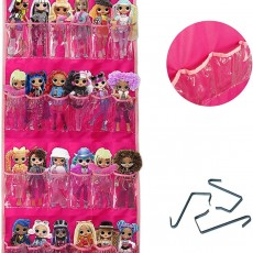 Door Storage Organizer Holder for Small Dolls, Cars, Jewelry, etc