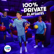 Fun Private Indoor Birthday Bouncing
