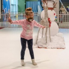 Things to do in Westfield-Clark, NJ for Kids: Sock Skating Rink!, Liberty Science Center