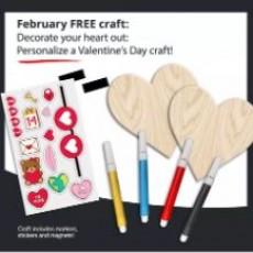 Kids Zone: Valentine's Craft