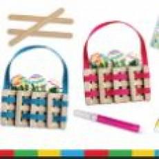 Kids Zone: Easter Basket Craft