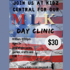 Worcester, MA Events for Kids: MLK Day Clinic