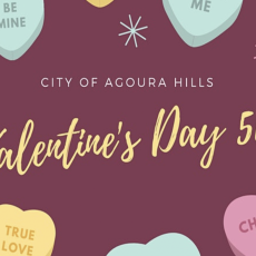 Things to do in Thousand Oaks, CA for Kids: Agoura Hills Valentine's Day Virtual 5K, City of Agoura Hills - Government