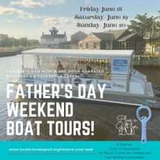 Cape May County, NJ Events: Father's Day Boat Tours *Hours Vary