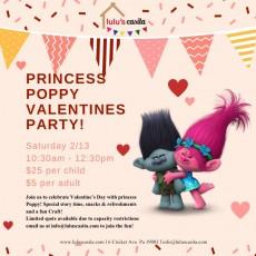 Valentine'€™s party with Princess Poppy