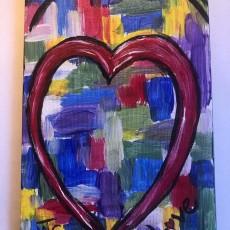 Kids Heart Painting